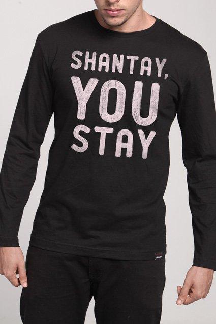 Manga Longa Shantay, You Stay
