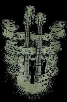 Estampa Manga Longa Led Zeppelin