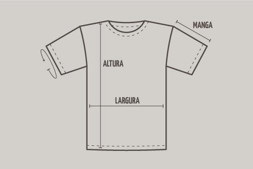 Medidas de Camiseta