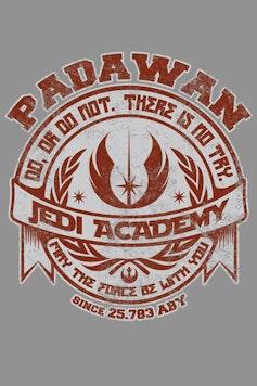 Estampa Moletom Jedi Academy
