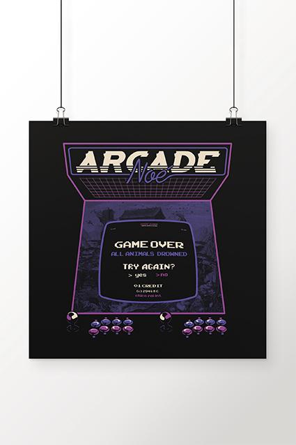 Poster Arcade Noe