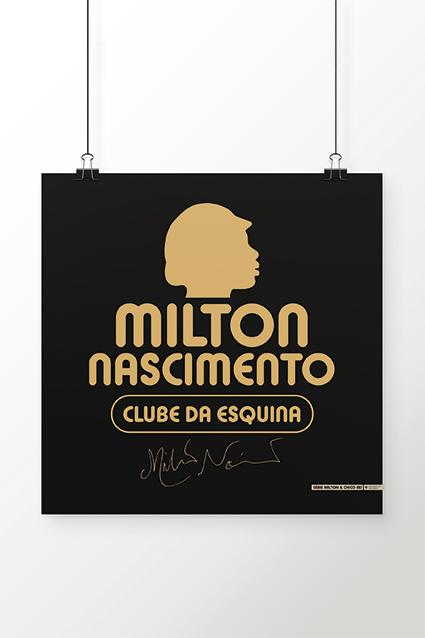 Poster Milton Clube Da Esquina
