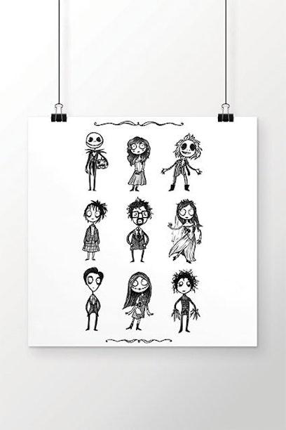 Poster O Estranho Mundo de Tim