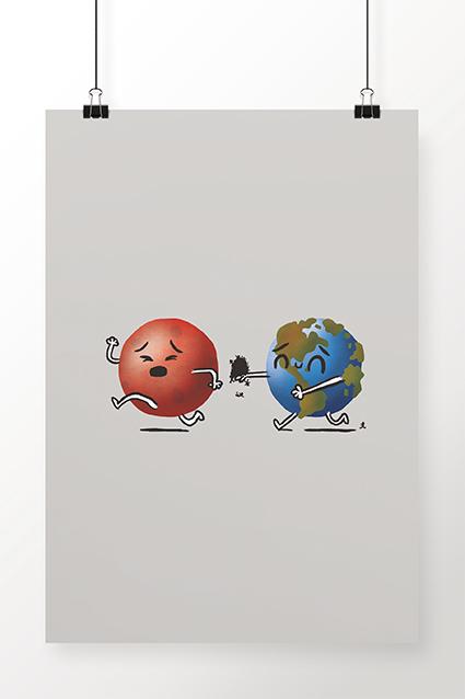 Poster Run Mars, Run