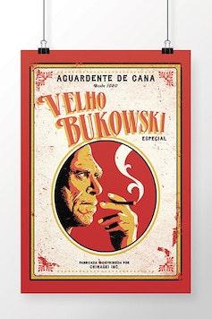 Poster Velho Bukowski