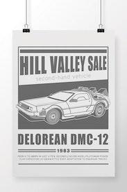 Poster DeLorean