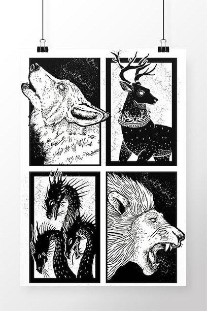 Poster Guerra dos Tronos