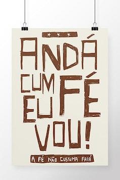 Poster Andá Cum Fé