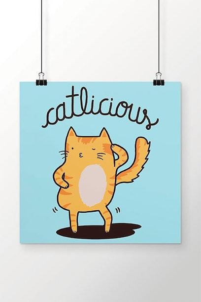 Poster Catlicious