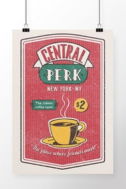 Poster Central Perk