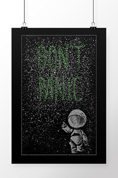 Poster Don't Panic