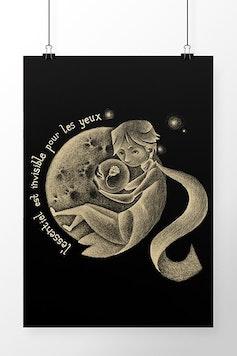 Poster Le Petit Prince