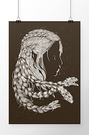 Poster Mother Of Dragons