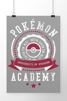 Poster Pokémon University