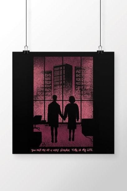Poster Strange Time