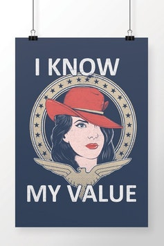 Poster I Know My Value