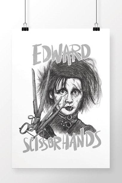 Poster Edward Scissorhands