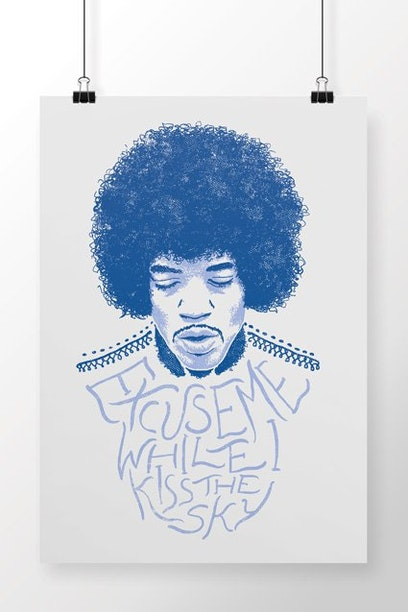 Poster Purple Haze