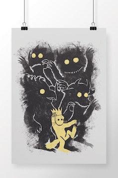 Poster Onde Vivem os Monstros