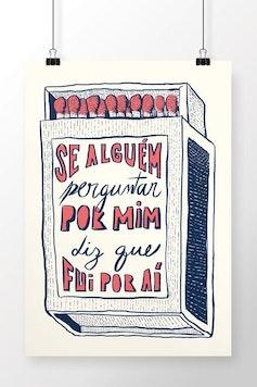 Poster Por Aí