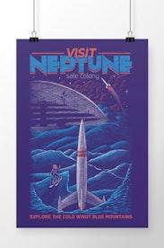Poster Neptune