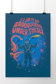 Poster Under The Sea