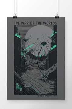 Poster The War of The Worlds