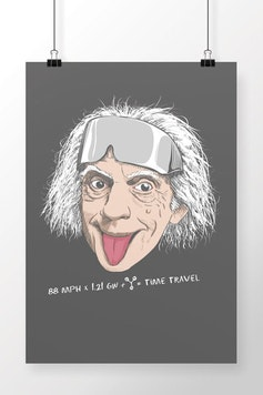 Poster Doc Brown
