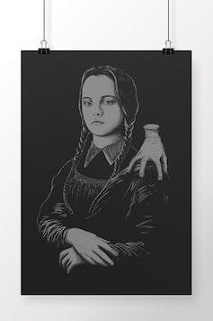 Poster Mona Lisa Addams