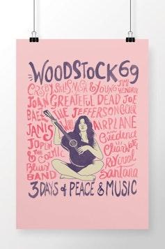 Poster Música e Paz