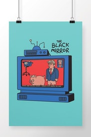 Poster The Black Mirror