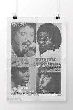 Poster Feira Livre Musical