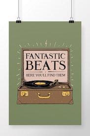 Poster Fantastic Beats