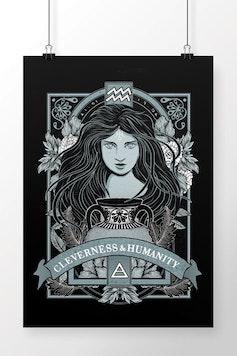 Poster Aquarius