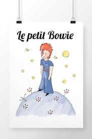 Poster Le Petit Bowie