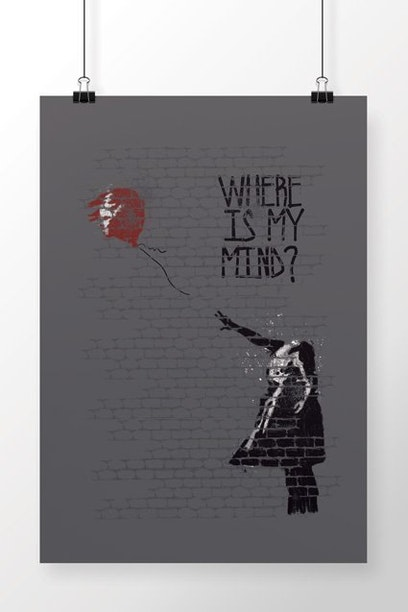 Poster Where Is My Mind?