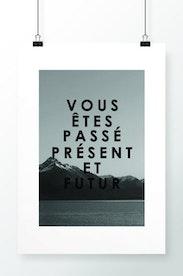 Poster Passé, Présent, Futur
