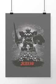 Poster Megazord