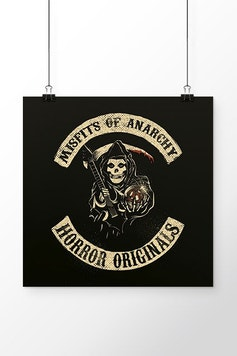Poster Misfits of Anarchy