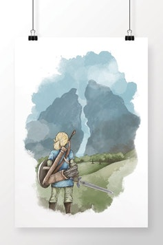 Poster Breath of the Wild