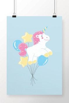 Poster Balões