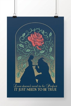Poster A Bela e a Fera