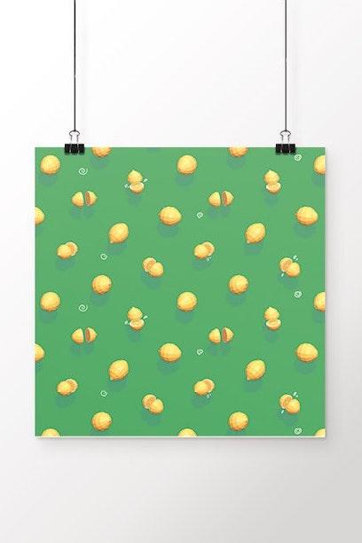 Poster Limão