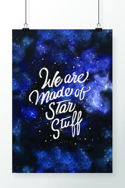 Poster Star Stuff