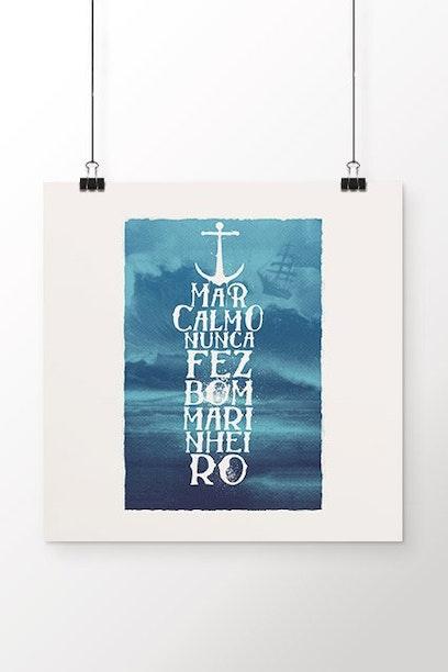 Poster Mar Calmo