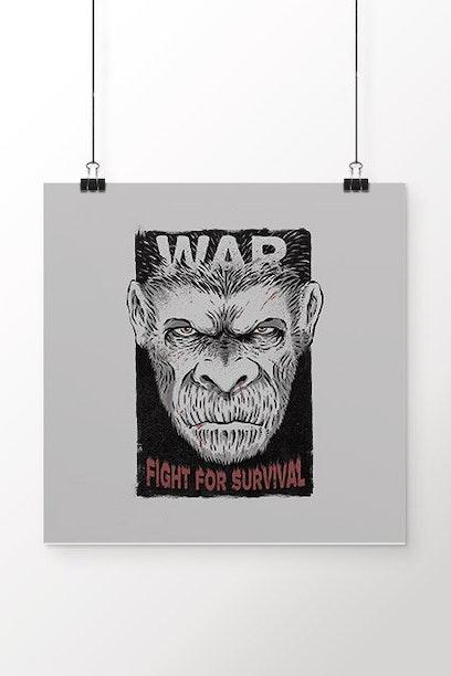 Poster Planeta dos Macacos
