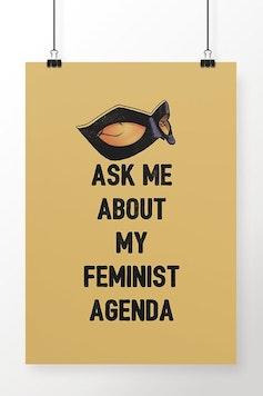 Poster Feminist Agenda