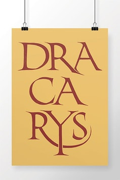 Poster Dracarys