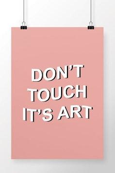 Poster It's Art