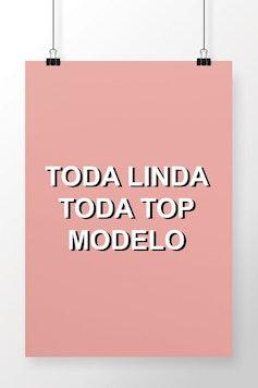 Poster Top Modelo